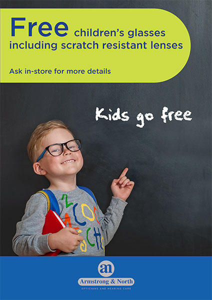 Kids go free poster