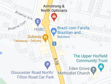 Filton Car Park Map